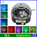 RC USB Music 6*3w RGB music activated led disco lights