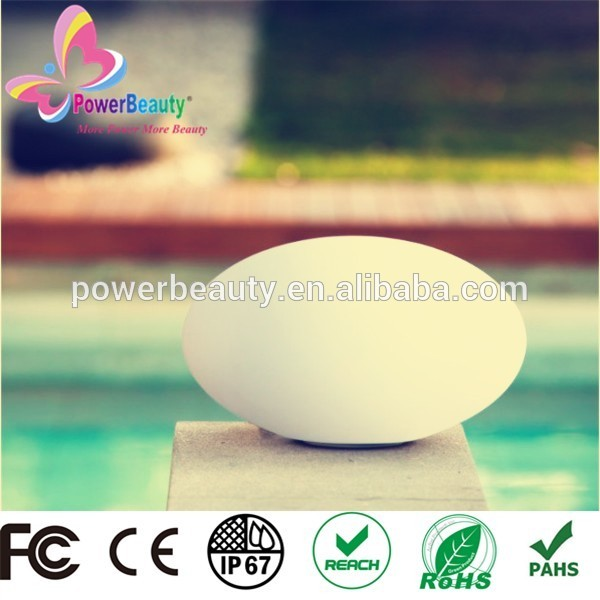 garden floating round led outdoor swimming pool solar ball light