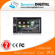 6.2 Inch HD Car DVD with GPS TV for Universal Car Stereo Dvd
