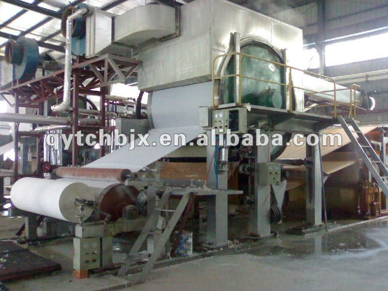 small model toilet paper machine, capacity: 0.8-1T/D