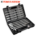 POWER ARROW T bar socket wrench 8-19mm t type handle hex head socket wrench dimensions 11PC Socket Wrench