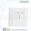2017 Top quality with impact design RJ45 network communication faceplate welcome OEM