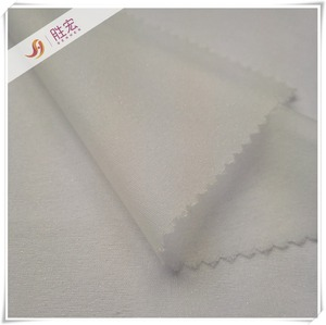 woven adhesive fusing fabric interlining for dress