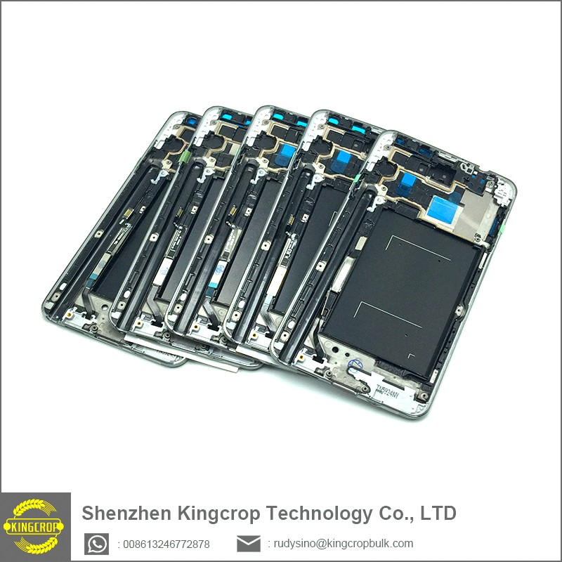 factory sales for samsung galaxy note 3 front frame middle frame front housing
