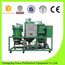Coalescence and dehydration oil purifie used in hydraulic lubrication system