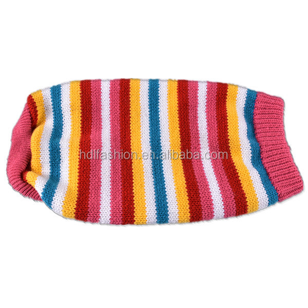 Latest design pet clothes knitting pattern for dog sweater