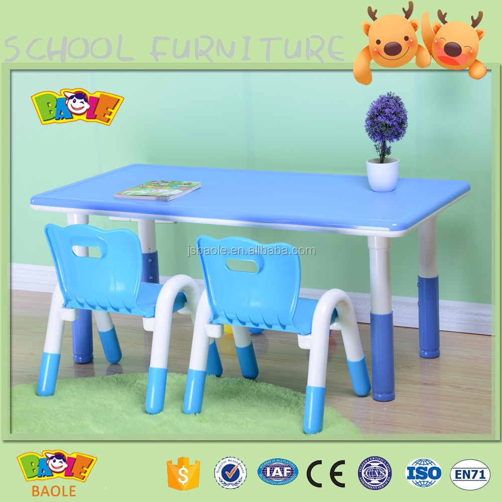 Kindergarten desk,Cute Kids desk and chair,preschool plastic children desk and chair