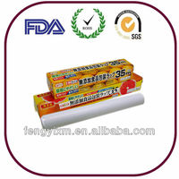 Anit-fog kitchen use PE cling film for food fresh keeping