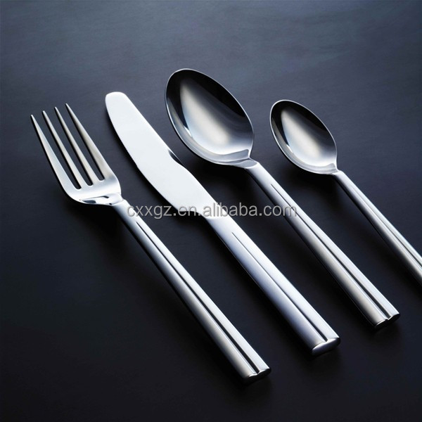 2016 Stainless Steel Flatware Cutlery Fork/Spoon/Knife Set With Handle