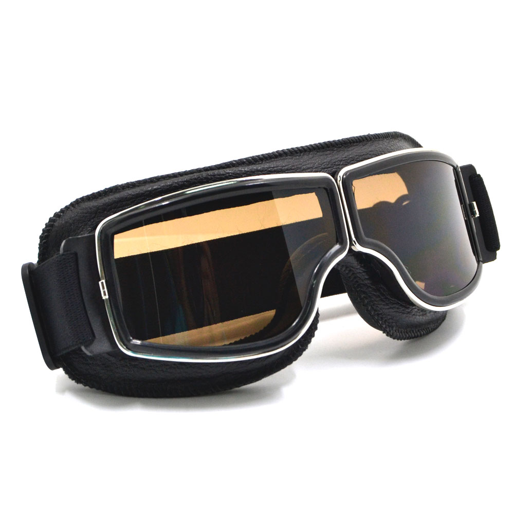 Dirtbike Motocross ATV Adult Vintage Retro Goggles Glasses Motorcycle Cycling Eyewear