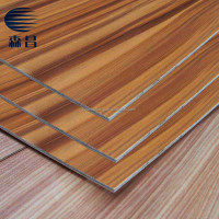 Laminated MDF Board / Melamine MDF Sheet