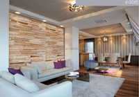 cherry decorative thin wood wall panel