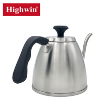 Top level new coming coffee kettle with temperature stainless steel coffee drip pot