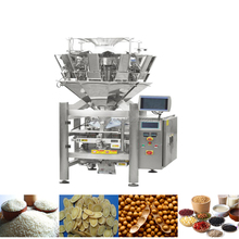 10 heads weigher automatic popcorn packaging machine