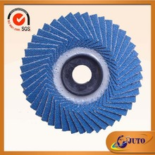 "6"" Zirconia abrasive flap disc with sanding fiber and grit 80#"