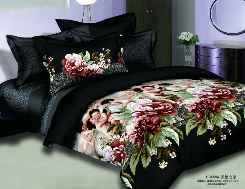 The newest design 100%cotton bedding cover