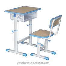 unique wooden and metal school table and chair school furniture