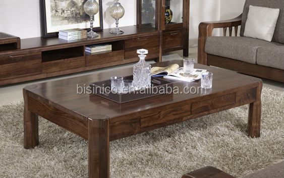 North american black walnut wood sofa set high end solid North american wood furniture
