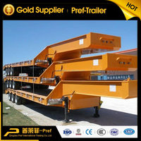 2017 China Supplier Low Bed Trailer