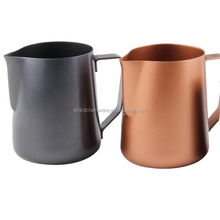 350/600/1000ML 18/8 non stick coating stainless steel milk jug