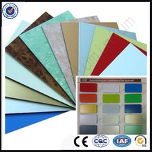 China manufactory PVDF 3mm aluminum composite panel