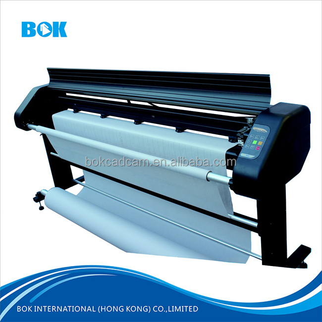 China BOK brands garment industrial digital print plotter cloth and Textile print plotter machine