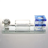 office business crystal pen container for sale MH-T026