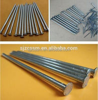 galvanized steel concrete nail spiral finishing nails