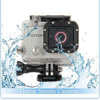 GoTop Sports Action CameraWaterproof 60m Full HD 1080P 1.5inch LCD Screen Mini DV Outdoor Camcorder Ambarella