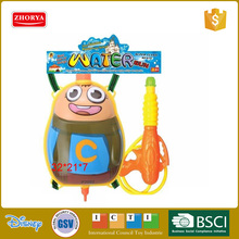 Zhorya children outdoor promotional summer clown Backpack water gun for water park