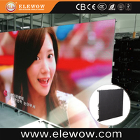 hd P3.91 indoor curved led display board/led tv parts for sale