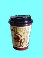 8oz disposable paper cups hot paper coffee cups with lid
