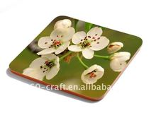 Nature MDF cork coasters paper placemats