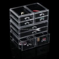 Acrylic Cosmetic Makeup Acrylic Display Cube Shelves Factory