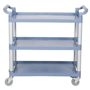 "32"" & 40"" Plastic kitchen serving trolley cart for restaurant"