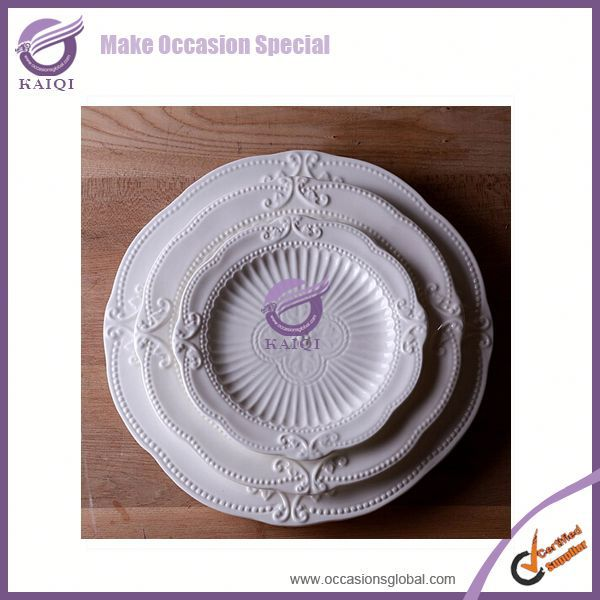 white dinner ozone generator infrared wholesale pizza ceramic plate