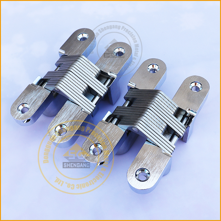 zinc alloy cross concealed hinges