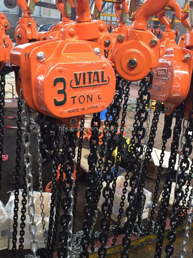 2 ton vital type chain block/construction lifting hoist/hand winch