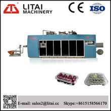TTF-820A LItai machine full automatic four stations plastic container thermoforming machine