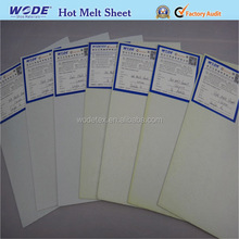 Sports shoes material hot melt adhesive chemical sheet with glue