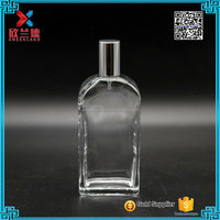 2016 new design perfumes and fragrances bottle with pump spray 107ml