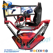 Amusement park cars game center adult arcade games 3 screens car driving simulator f1 racing game machine