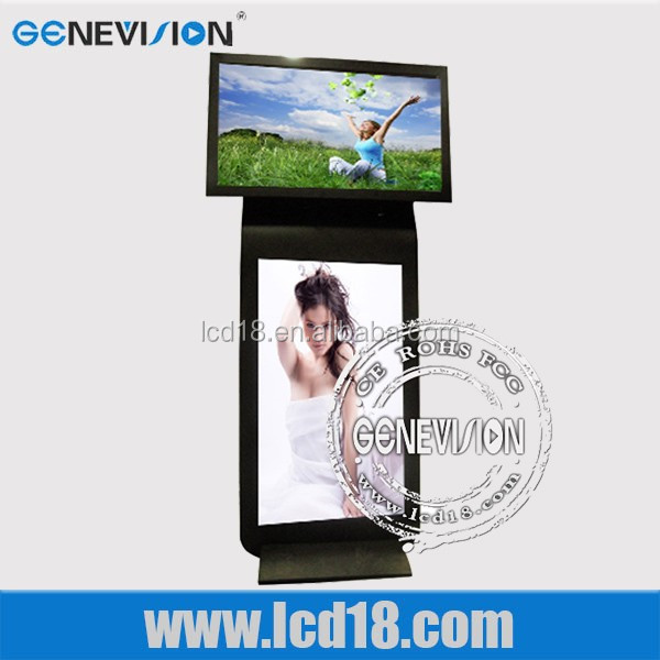 42 and 52 inch Hot sell wifi double sided lcd vertical advertising display monitor lcd digital signage display