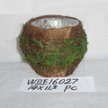MOSS FIBER POTS FOR DECO