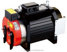 Elevator Gearless Traction Motor with sheave made by china suppliers