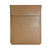 U Leather Protective Sleeve Carrying Bag Case with Back Pocket for Apple iPad Pro 12.9 Inches