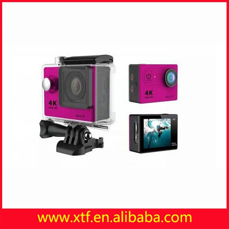 Factory supplies traveler waterproof sports camera