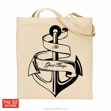 Eco-friendly 2017 wholesale cotton canvas free sample tote bag