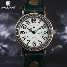 Professional PU retro watches