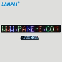 multi color digital scrolling sign led displays for car /bus /taxi